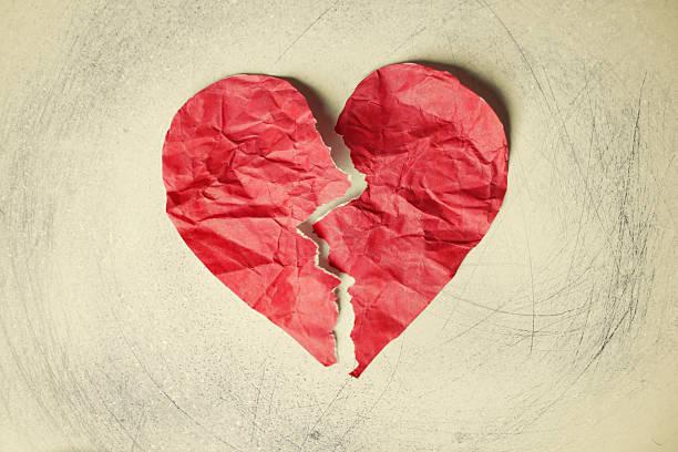 broken heart paper